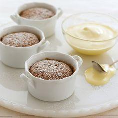 Happy little mincemeat souffle puddings