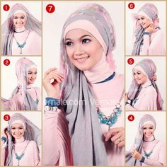 Muslim Women Beautiful Face When Wear Hijab