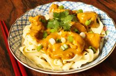 This Northern Thai Curry, with Burmese influences, is a popular Chiang Mai street food. Most Asian curries are served with rice, but Khao Soi is served over egg noodles (the Burmese Ohn No Khao Swè...
