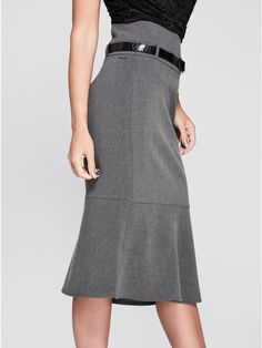 Bcbgmaxazria Black Wool Blend One Pocket Back Split Pencil Skirt Size 0 Reliable Performance Women's Clothing Clothing, Shoes & Accessories