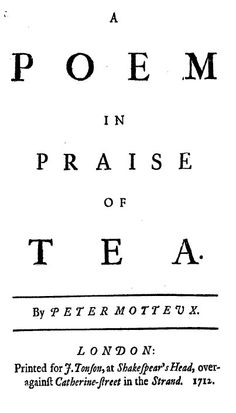 Tea and the Tea-Table in Eighteenth-Century England