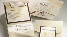 Johanna & Ethan Wedding Invitation