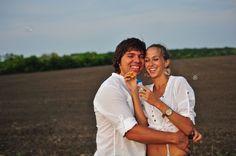 Фотосессия Love Story на открытом воздухе