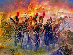 La Guardia Imperial combate en Plancenoit. Más en www.elgrancapitan.org/foro