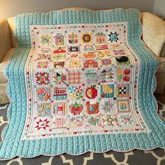 farm girl vintage sampler quilt