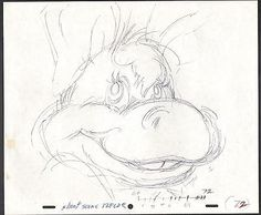 WUZZLES HOPPO Disney original production animation cell drawing commercial 2*
