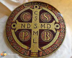 Mosaico Medalha de São Bento