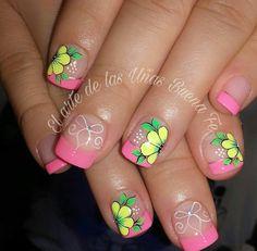 Natural Acrylic Nails, Pedicure, Hair And Nails, Nail Art, How To Make, Beauty, Nail Bling, Work Nails, Fingernails Painted