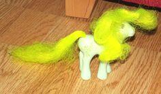 Morning Glory Flutter Pony Vintage My Little Pony - Rare by BunkysVintageCrafts on Etsy