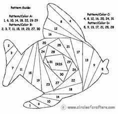 Fishy :) - I wonder if I can use these patterns in wirework? Maybe with seed…