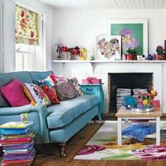 Make Your Living Room More Cheerful | At Home - Yahoo Shine