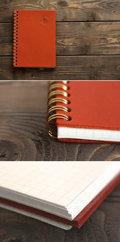 leather cover notebook | Duram Factory
