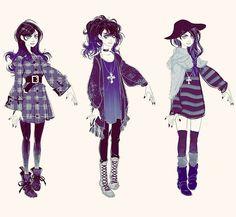 #characterdesign #fashion #girls #photoshop                                                                                                                                                      Mais