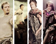 """sassy-but-fab: """" Rick and Daryl Evolution """" The Walking Death, Walking Dead, Amc Shows, Daryl Dixon, Best Tv Shows, Norman Reedus, Man Alive, Cute Guys, Evolution"""