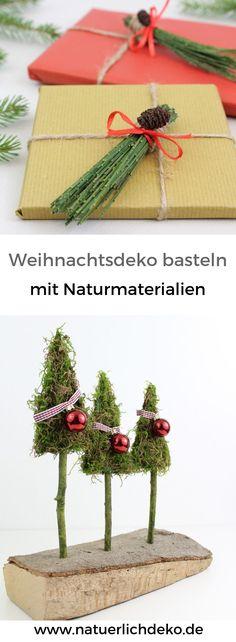 Die besten 25 weihnachtsdeko selber machen ideen auf pinterest ideen weihnachtsfeier ideen - Weihnachtsdeko selber machen naturmaterialien ...
