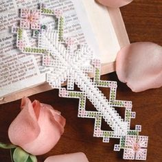 Leisure Arts - Easter Cross Bookmark Plastic Canvas Pattern ePattern, $2.99 (http://www.leisurearts.com/products/easter-cross-bookmark-plastic-canvas-pattern-digital-download.html)