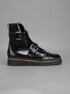 MARNI - buckle fastening ankle boot 7