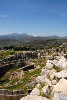 VISIT GREECE| Mycenae #Peloponnese #mainland #destination