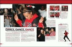 Yearbook layout