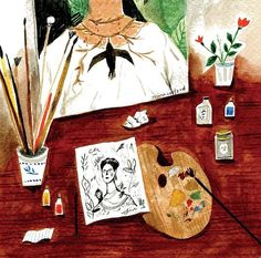 Nina Cosford - Frida Kahlo's desk