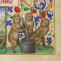 L'INGREDIENTE SEGRETO  Miniatura tratta dal Libro d'Ore NAL 3115 (XV secolo), Bibliothèque nationale de France, Parigi. Folia Magazine