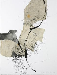 165 by Kitty Sabatier, 2010, 50 x 65cm, mixed media