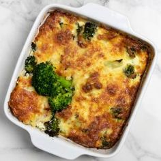 Lchf, Quiche, Broccoli, Macaroni And Cheese, Easy Meals, Low Carb, Healthy Recipes, Vegetables, Breakfast
