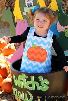 hevron Pumpkin Outfit with free pumpkin applique download by Twodaloo