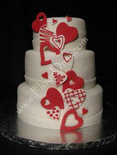 valentine's day cake ideas | Eye Candy: Valentine Wedding Cakes - Reception - Project Wedding ...