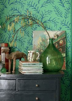 Gorgeous wallpaper by Sanderson UK