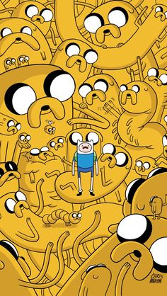 Adventure Time with Jake the Dog and Finn the Human