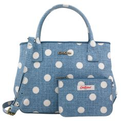 CATH KIDSTON MINI TOTE TEXTURED BUTTON SPOT EMBOSSED HANDBAG SHOULDER BAG