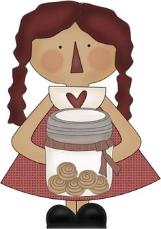 PGC: Candles/Raggedy clipart 4