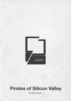 Pirates of Silicon Valley (1999) ~ Minimalist Movie Poster by Eder Rengifo
