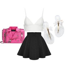 jus so random by kittinvouge on Polyvore featuring polyvore fashion style T By Alexander Wang Moschino
