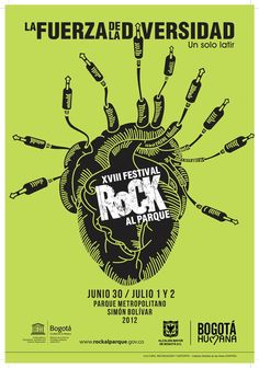 Afiche / XVIII Festival Rock al Parque Concepto, diseño e ilustración. Independent Music, Cursed Child Book, Listening To Music, Music Artists, Rock And Roll, Shirt, Mario, Posters, Graphic Design