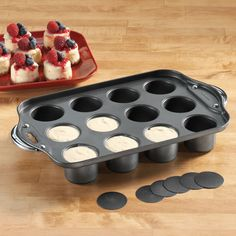 Non-Stick Mini Cheesecake Pan - Bakeware & Cookware - Kitchen - Walter Drake