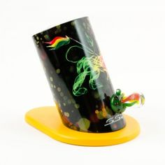 how cool is this rasta style silver surfer vaporizer? don't you want one?