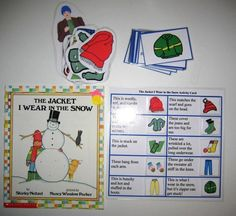 The Jacket I Wear in the Snow Literacy Unit by HandsOnLearningFun, $3.00