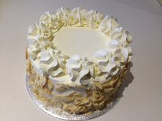 EGG-LESS CAKE WITH FRESH CREAM Fresh Cream, Vanilla Cake, Party Supplies, Egg, Candle Holders, Candles, Desserts, Food, Eggs