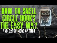 Essential fishing knots for catfish anglers to tie a variety of catfish rigs. The strongest and easiest to tie fishing knots including tying a snell knot. Surf Fishing Tips, Fishing Rigs, Fishing Knots, Fishing Bait, Gone Fishing, Best Fishing, Catfish Fishing, Catfish Rigs, Fishing