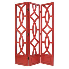Add a chic touch of style to your home with this eye-catching design, artfully crafted for lasting appeal.  Product: Room divider...