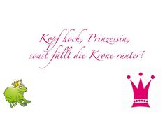 Kopf hoch Prinzessin! Wild Creatures, Arabic Calligraphy, Stay Strong, My Love, Funny Stuff, Life, Cheer Up, Princess, Funny