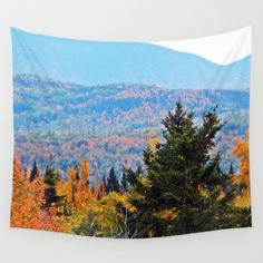 From Hills to Mountains Wall Tapestry