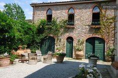 Courtyard of Villa Michaela