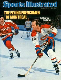 Guy Lafleur - Montreal Canadiens - cover of Sports Illustrated, Feb The Habs seemed unstoppable in those years. Stars Hockey, Hockey Teams, Hockey Players, Ice Hockey, Hockey Stuff, Montreal Canadiens, Nhl, Sports Magazine Covers, Nfl Highlights