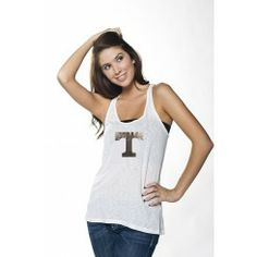 University of Tennessee Oversized Tank Pinned by SECfootball101.com
