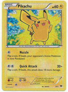 Pikachu - 5/12 - 2014 Holo Mcdonalds Promo pokemon card