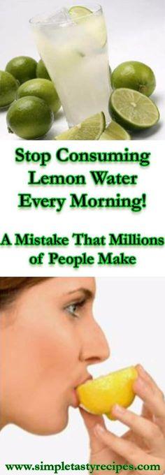 Stop Consuming Lemon Water !!