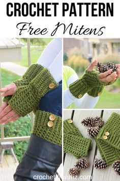This textured finger less gloves crochet tutorial is an elegant accessory for all women. The stitch pattern is perfect for beginners yet beautiful. Crochet Fingerless Gloves Free Pattern, Crochet Boot Cuffs, Fingerless Mittens, Crochet Yarn, Crochet Stitch, Diy Crochet For Beginners, Beginner Crochet Tutorial, Crocheting For Beginners Tutorial, Crochet Designs